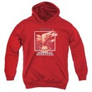 ZZ Top Kids Hoodie Deguello Cover Red Youth Hoody