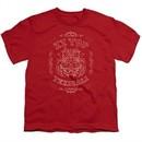 ZZ Top Kids Shirt Texicali Demon Red T-Shirt