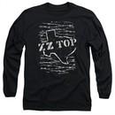 ZZ Top Long Sleeve Shirt Barbed Black Tee T-Shirt