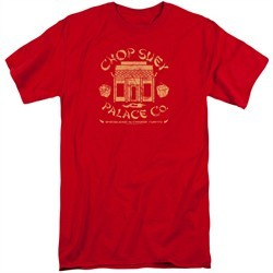 A Christmas Story Shirt Chop Suey Palace Co Red Tall T-Shirt