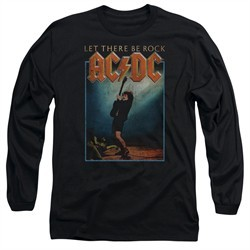 ACDC Long Sleeve Shirt Let There Be Rock Black Tee T-Shirt
