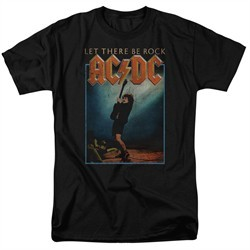ACDC Shirt Let There Be Rock Black T-Shirt