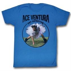 Ace Ventura Shirt Ventura Adult Royal Blue Tee T-Shirt