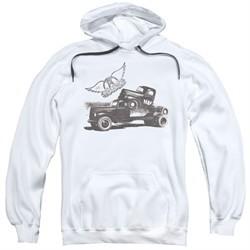 Aerosmith Hoodie Pump White Sweatshirt Hoody