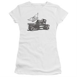 Aerosmith Shirt Juniors Pump White T-Shirt