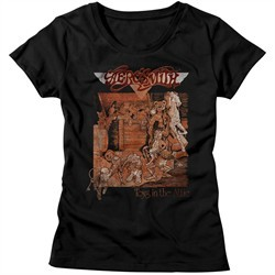Aerosmith Shirt Juniors Toys In The Attic Black T-Shirt