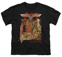 Aerosmith Shirt Kids Toys Black Youth Tee T-Shirt
