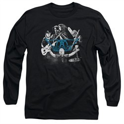 Aerosmith Shirt Rock N Around Long Sleeve Black Tee T-Shirt