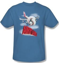 Airplane Shirt Logo Adult Carolina Blue Tee T-Shirt