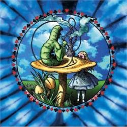 Alice In Wonderland Cartoon Mystical Tie Dye