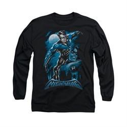 All Grown Up DC Comics Shirt All Grown Up Long Sleeve Black Tee T-Shirt