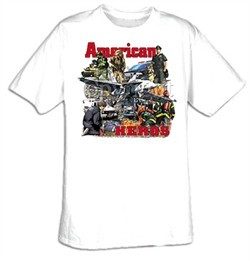 All American Heroes T-Shirts