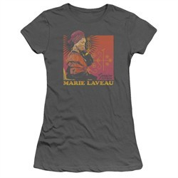 American Horror Story Juniors Shirt Marie Laveau Charcoal T-Shirt