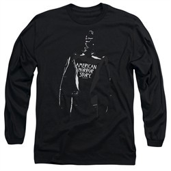American Horror Story Long Sleeve Shirt Rubber Man Black Tee T-Shirt