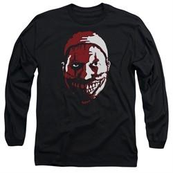 American Horror Story Long Sleeve Shirt The Clown Black Tee T-Shirt