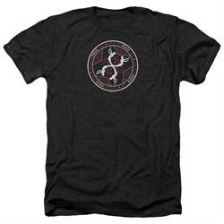American Horror Story Shirt Coven Serpent Sigil Heather Black T-Shirt