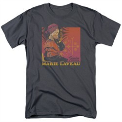 American Horror Story Shirt Marie Laveau Charcoal T-Shirt