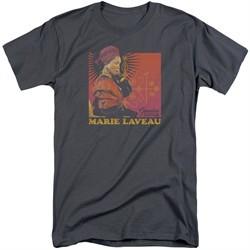 American Horror Story Shirt Marie Laveau Charcoal Tall T-Shirt