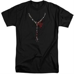 American Horror Story Shirt Necklace Black Tall T-Shirt