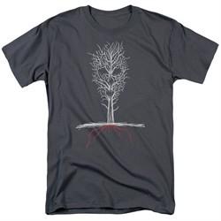 American Horror Story Shirt Scary Tree Charcoal T-Shirt