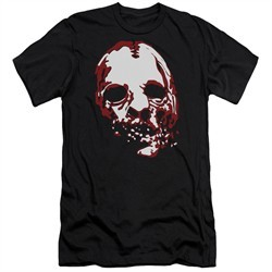 American Horror Story Slim Fit Shirt Bloody Face Black T-Shirt
