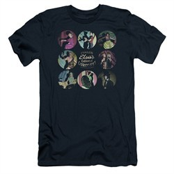 American Horror Story Slim Fit Shirt Cabinet Of Curiosities Navy Blue T-Shirt