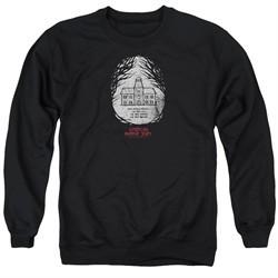 American Horror Story Sweatshirt Its Everywhere Adult Black Sweat Shirt
