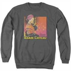 American Horror Story Sweatshirt Marie Laveau Adult Charcoal Sweat Shirt
