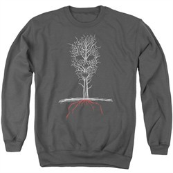 American Horror Story Sweatshirt Scary Tree Adult Charcoal Sweat Shirt