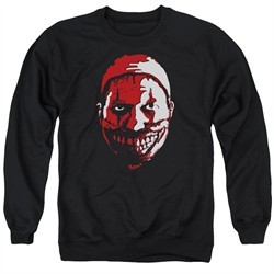American Horror Story Sweatshirt The Clown Adult Black Sweat Shirt
