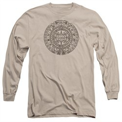 Ancient Aliens Long Sleeve Shirt Calender Sand Tee T-Shirt