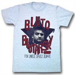 Animal House Shirt Bluto Adult Blue Heather Tee T-Shirt