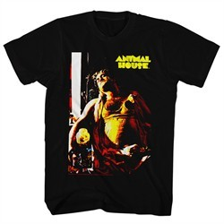 Animal House Shirt Bluto Passed Out Black T-Shirt
