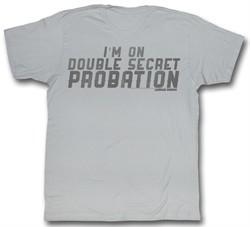 Animal House Shirt Double Secret Grey T-Shirt