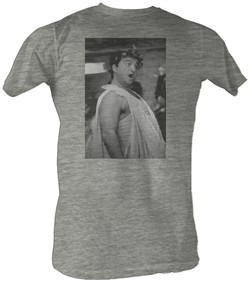 Animal House T-Shirt ? Toga Photo BW Adult Gray Heather Tee Shirt