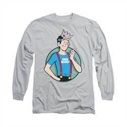 Archie Shirt Chick Magnet Long Sleeve Silver Tee T-Shirt