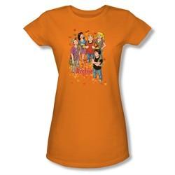 Archie Shirt Juniors Fall Orange T-Shirt
