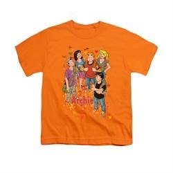 Archie Shirt Kids Fall Orange T-Shirt