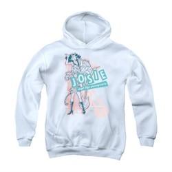 Archie Youth Hoodie Glam Rockers White Kids Hoody