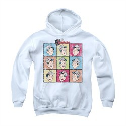 Archie Youth Hoodie Jughead Faces White Kids Hoody