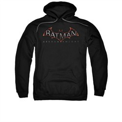 Arkham Knight Hoodie Logo Black Sweatshirt Hoody