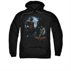 Arkham Knight Hoodie Two Fighters Black Sweatshirt Hoody