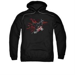 Arkham Knight Hoodie W Tech Black Sweatshirt Hoody