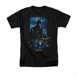Arkham Knight Shirt Batmobile Black T-Shirt
