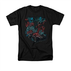 Arkham Knight Shirt City Of Fear Black T-Shirt