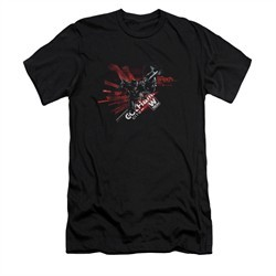 Arkham Knight Shirt Slim Fit W Tech Black T-Shirt