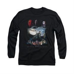 Arkham Knight Shirt Spot Light Long Sleeve Black Tee T-Shirt