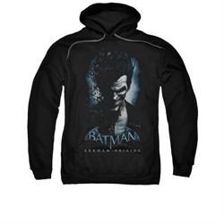 Arkham Origins Hoodie Joker Black Sweatshirt Hoody