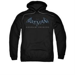 Arkham Origins Hoodie Logo Black Sweatshirt Hoody