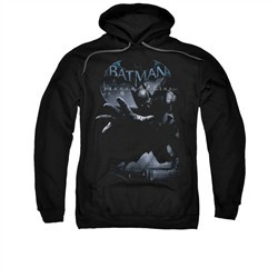 Arkham Origins Hoodie Out Of The Shadows Black Sweatshirt Hoody